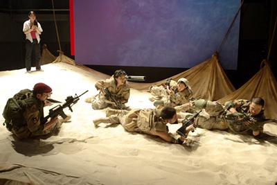 砂と兵隊/Sables & Soldats