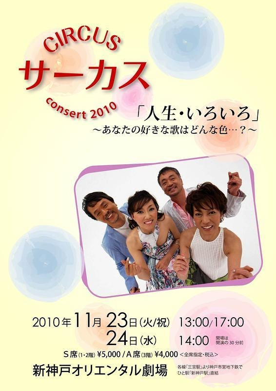 サーカス  コンサート 2010