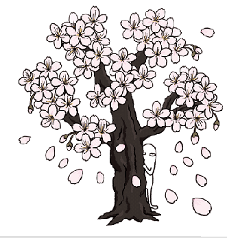 花のもとにて春死なむ