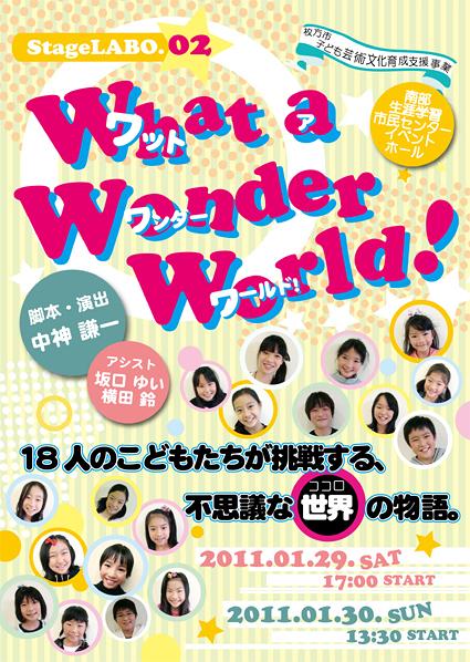 What a Wonder World!