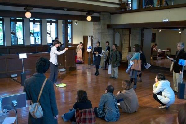 マレビトの会『HIROSHIMA-HAPCHEON:二つの都市をめぐる展覧会』