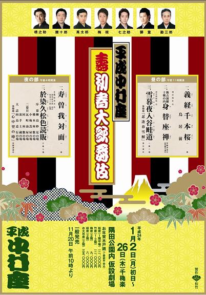 平成中村座 壽初春大歌舞伎