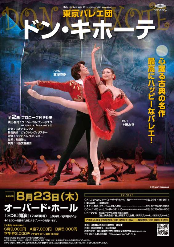 東京バレエ団「ドン・キホーテ」全2幕