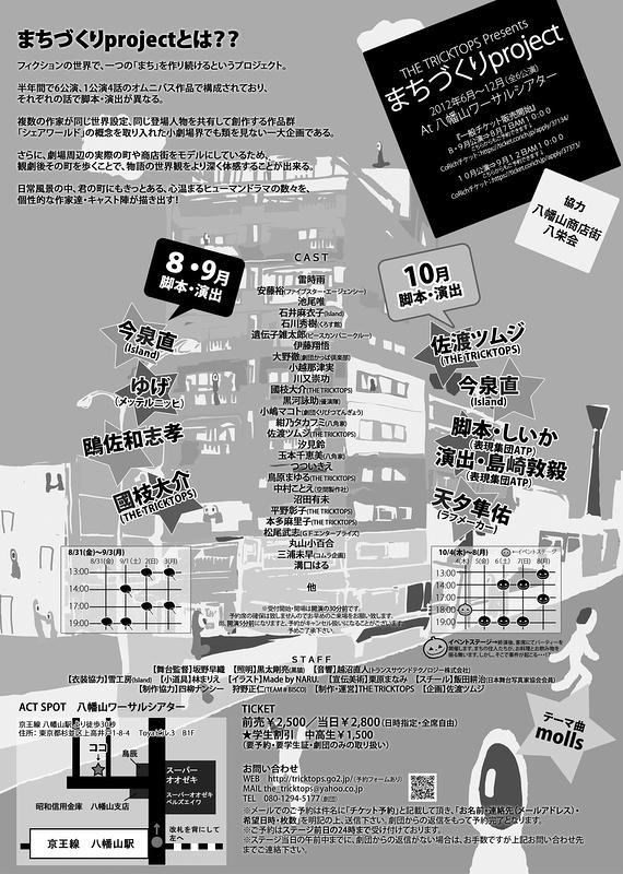 『まちづくりproject』8・9月