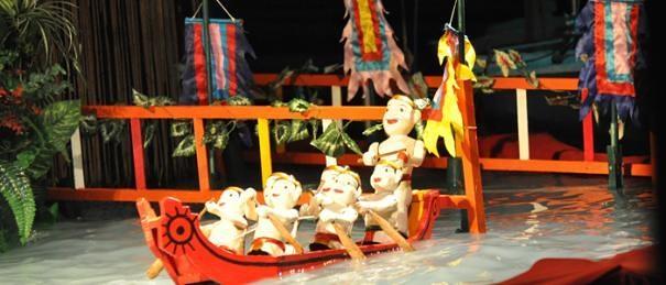 ベトナム伝統水上人形劇