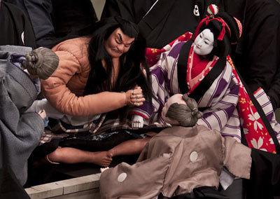 人形浄瑠璃 「文楽」