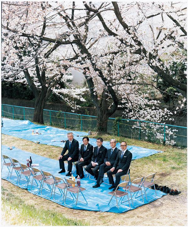 西瓜割の棒、あなたたちの春に、桜の下ではじめる準備を