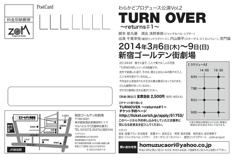 TURNOVER 〜returns#1〜
