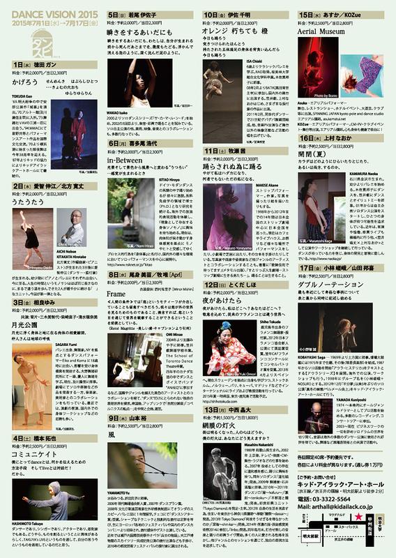 Dance Vision 2015