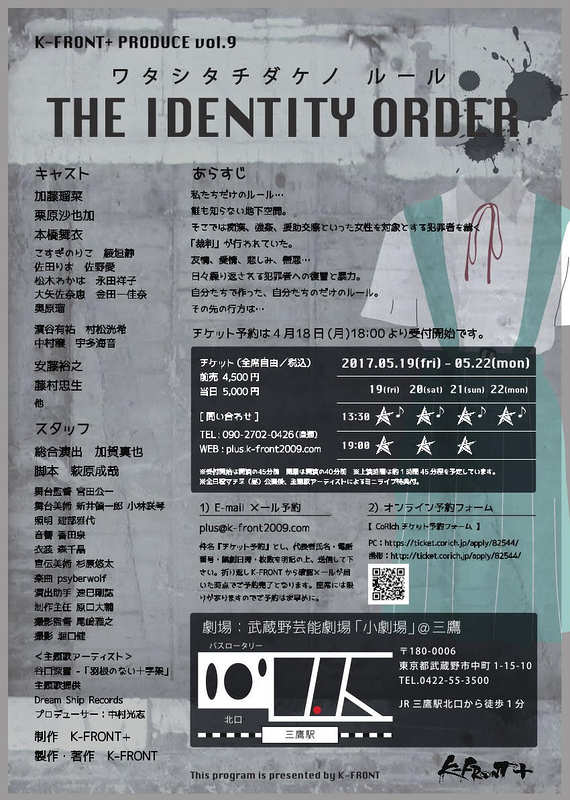 THE IDENTITY ORDER