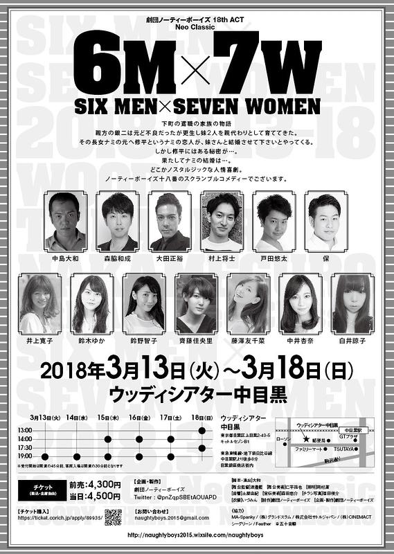 6M × 7W
