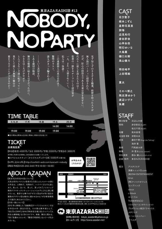 NoBody,NoParty