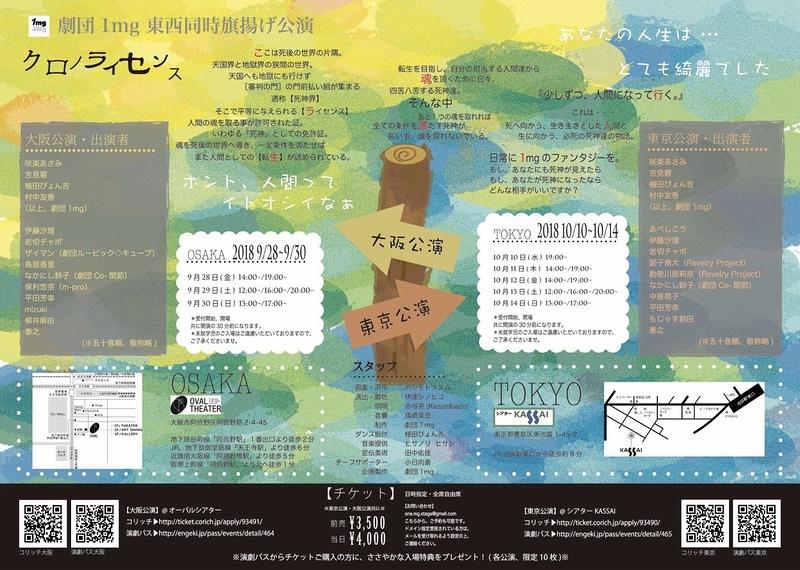 クロノライセンス(大阪公演)