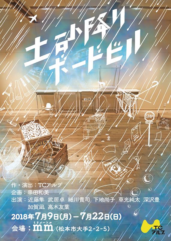土砂降りボードビル