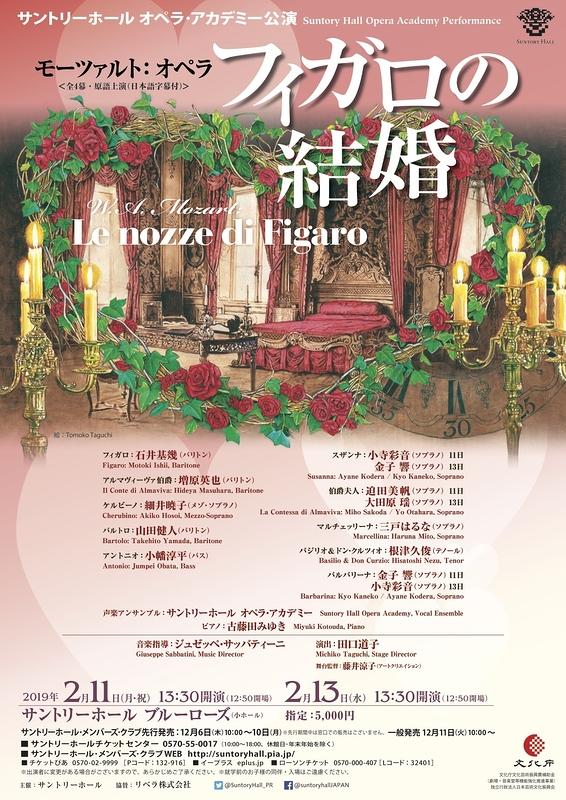 モーツァルト:オペラ『フィガロの結婚』