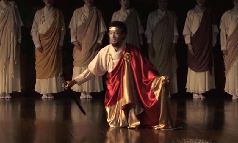 能楽堂「ギリシャ悲劇 アンティゴネー」公演