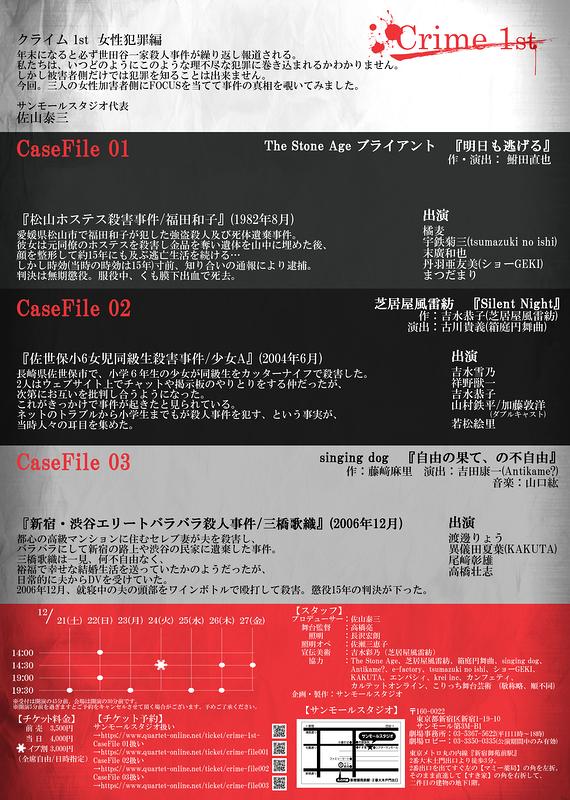 Crime - 1st  -