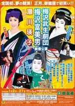 梅沢武生劇団 梅沢登美男 新春公演