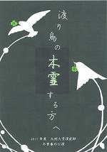 渡り鳥の木霊する方へ