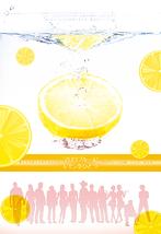 マロウブルーにレモンをひとつ