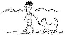 『少年サブちゃんと名犬ゴン』
