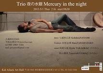 Trio 夜の水銀 Mercury in the night