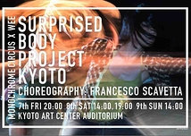 Surprised Body Project KYOTO