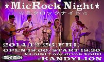 MicRock Night