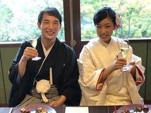 隆太郎とヤス子の結婚披露パーティー