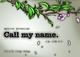 call my name.