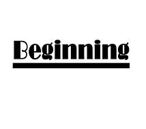 Beginningプロモーション
