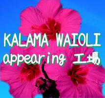 KALAMA WAIOLI appearing 工場