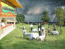 ハードレインオープンカフェ