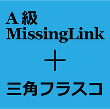 A級MissingLink+三角フラスコ