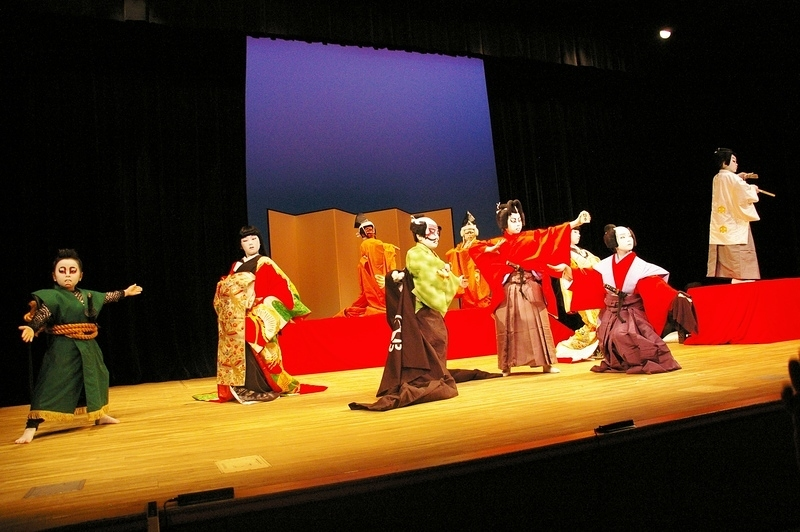 子供歌舞伎愛好会信楽会たぬきっず「慶江東対面」