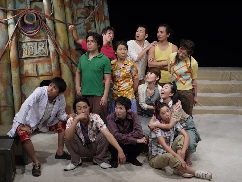 第14回公演『鉄塔13』出演者集合写真