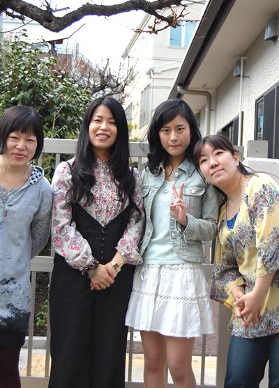 四姉妹はどう変わっていくのでしょうか・・・?