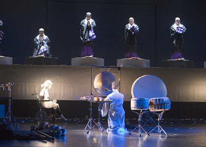 「羯諦羯諦」舞台写真