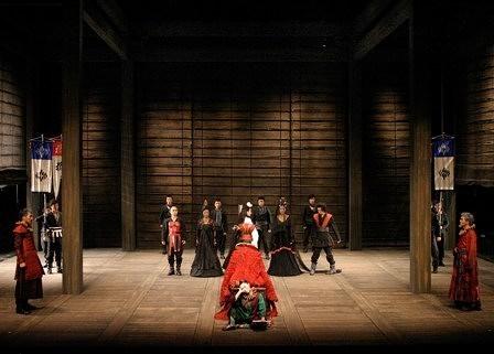 「リア王」舞台写真