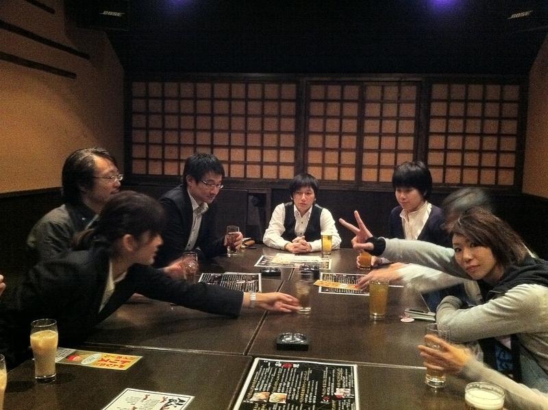 打ち上げ・新宿編1