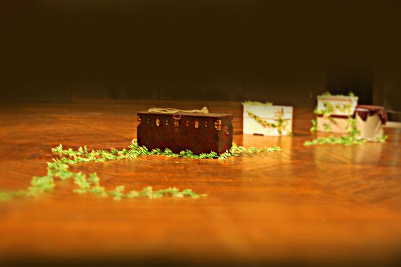 『また何度目かの世界の終わり』舞台セット写真