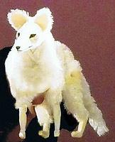 「葛の葉」から 狐の姿に戻った葛の葉姫
