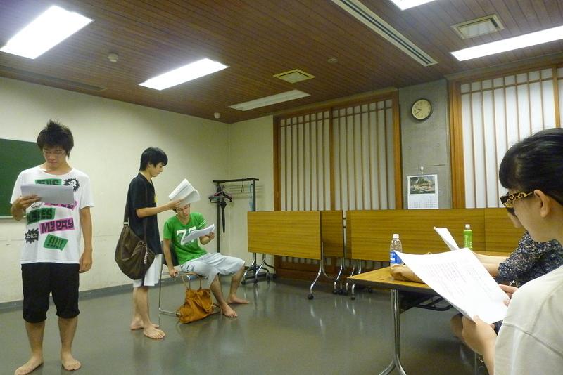 「恋、」 練習風景1