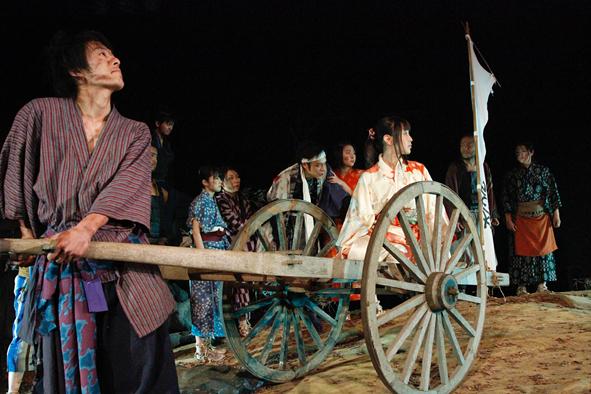 過去舞台写真「関ヶ原でダンス」②