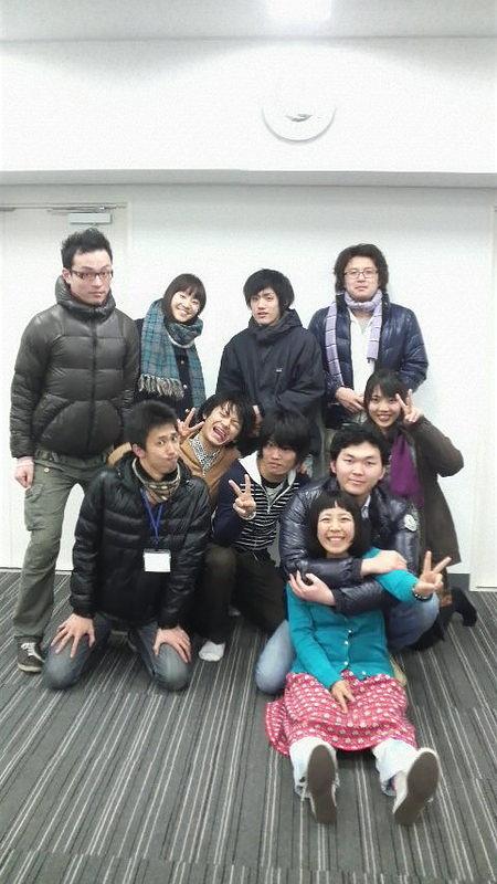 役者集合写真!!