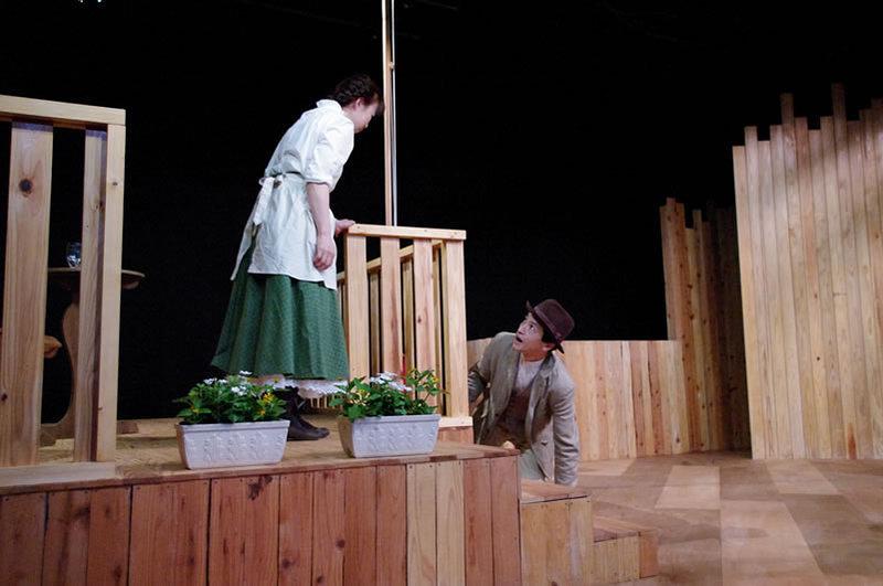 「海の夫人」舞台写真 ①