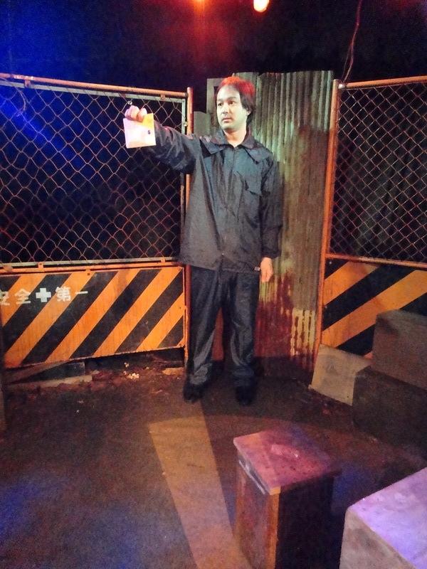 2012年3月 立入禁止区域のラーメン屋