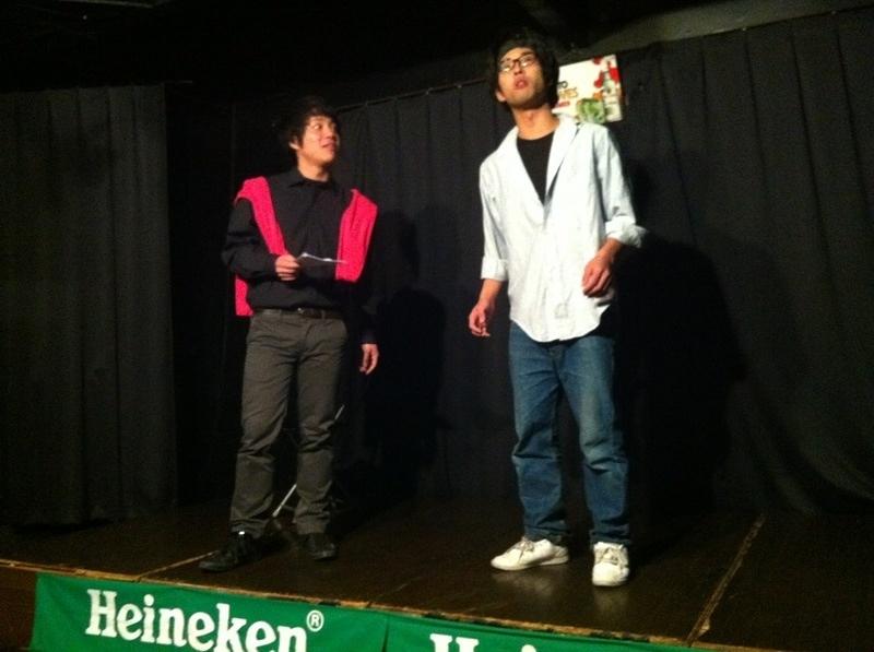 二人芝居セレクション サクゴエラボラトリーvol,5「越しに自由」