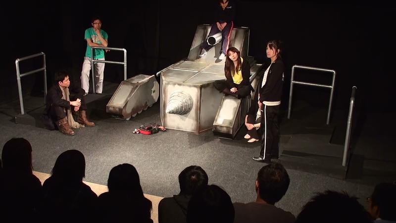 第十回公演『その日を迎える為の九十九の方法』のワンシーン