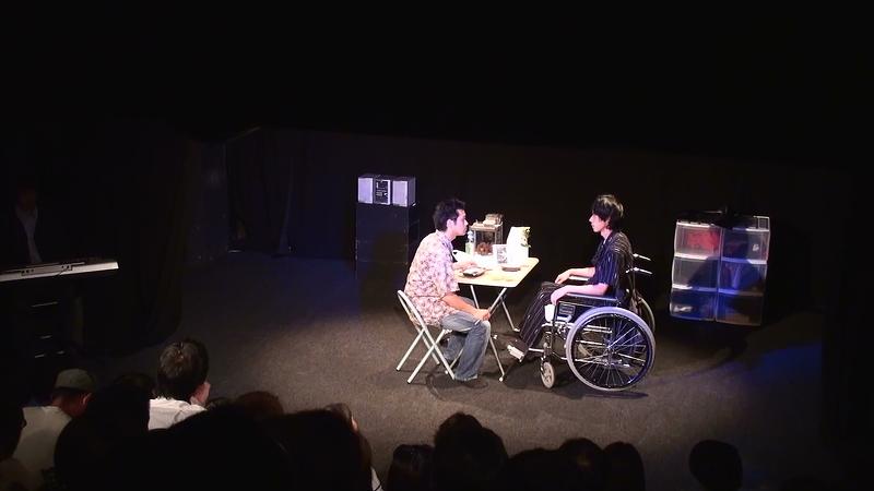静電気の夜vol.1『モンスター良心』『呼吸する人魚』のワンシーン